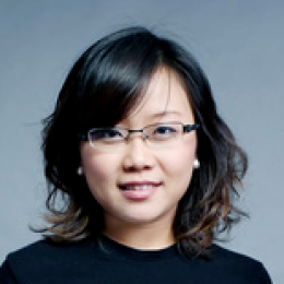 head shot of Liqing Zhou