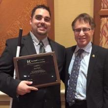 CUbiC Graduate Researcher Elected President of the Arizona Association of Blind Students